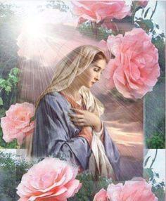 """""""Rosa Mística"""" En este día de las Madres, te doy las gracias por todo lo que nos proteges y nos cuidas y tu gran amor maternal! Gracias Madre mía!"""