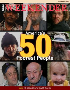 America's 50 Poorest People