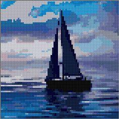 Cross Stitch | Sail xstitch Chart | Design