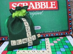Scrabble Game Gift Bag - PDF Sewing Tutorial | PatternPile.com