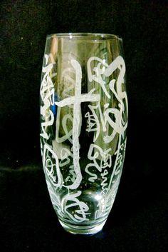 玻璃書法雕刻--賈島劍客