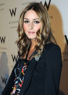 W Atlanta Buckhead Hotel Grand Opening  in 2009 with Olivia Palermo