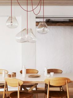 Pendant Lights / via Style Files