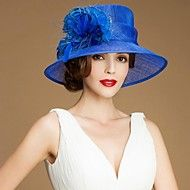 Women Feather/Flax Hats With Wedding/Party Headpi... – GBP £ 29.39