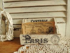 Wooden Organizer, Wooden Rack, Shabby Chic Vintage French Paris Home Table Office Decor Kitchen Decoration Ornament, White by decocarin on Etsy https://www.etsy.com/listing/250642329/wooden-organizer-wooden-rack-shabby-chic #shabbychichomesoffice #vintagekitchen #vintageshabbychickitchen #shabbychicdecorfrench #shabbychickitchentable