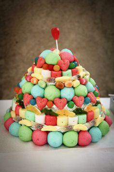 gateau de bonbon myriam