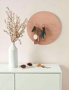 Diy Home Decor Easy, Easy Diy Crafts, Diy Home Crafts, Decor Crafts, Diy Projects Bedroom Decor, Diy Decorations For Home, Modern Crafts, Decor Diy, Wood Crafts