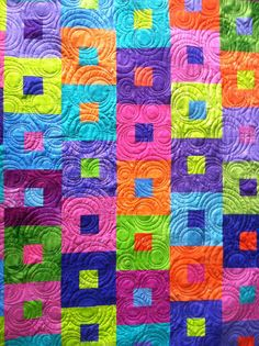 by Jessica's Quilting Studio Patchwork Quilt Patterns, Batik Quilts, Scrappy Quilts, Quilting Tutorials, Quilting Projects, Quilting Designs, Quilting Ideas, Geometric Quilt, Charm Quilt