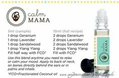 Calm mama essential oil blend.... helps mom or dad calm down and recoup and relax a little.. doterra... please visit: www.mydoterra.com/jenniferkippels