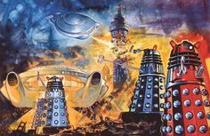 I Am The Doctor, Doctor Who Art, Dalek, Geek Art, Lego Creations, Dr Who, Elementary Art, Bing Images, Graffiti