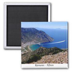 Kamares – Sifnos Fridge Magnets