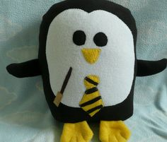 Hufflepuff Penguin Pillow!