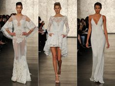Sexy Glam Wedding Dresses From Inbal Dror for Fall/Winter 2016 | Photo by: Kurt Wilberding | TheKnot.com