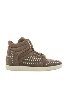 Image 4 of Ash Zest Bis Studded High Top Sneakers