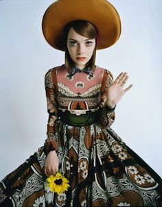 Emma Stone © Tim Walker 2014