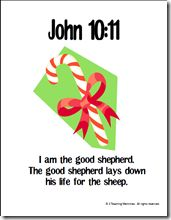 Memory Verse Helps for John 10:11