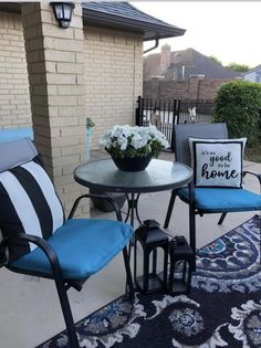 Outdoor Furniture Sets, Outdoor Decor, Go Outside, Porch, Dining Chairs, Yard, Home Decor, Balcony, Patio