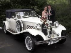 Blue Beauford Convertible Wedding Car | Wedding Car Hire