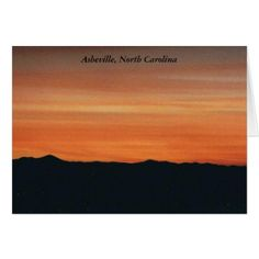 Asheville North Carolina Note Card - travel photos wanderlust traveling pictures photo