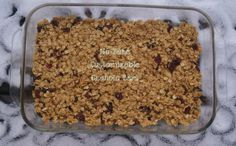 No bake, customizable granola bars - we'll make them nut-free with SunButter!