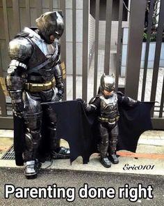 Father goals. #batmanvsuperman  Ron by allthingsdcmarvel x...