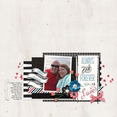 layout created with Always by River Rose Designs