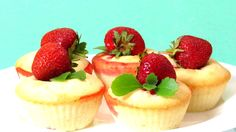 https://www.youtube.com/watch?v=XCsG1UzOJqg  How To Make Easy Strawberry Muffins. Quick & Simple Homemade Recipe Tutorial For Beginners. This Easy Strawberry Muffins is both light, delicious and tender. Strawberry muffins that can be made with fresh or frozen strawberries.