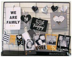 Kit de Projet - C'est la Vie Stampin Up, Hello Live, We Are Family, Kit, Love, Godchild, Amor, Stamping Up