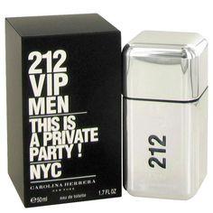 212 Vip by Carolina Herrera 1.7 oz EDT Cologne Spray for Men New in Box #CarolinaHerrera