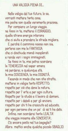 "Le Piccole Emozioni: ""Una valigia piena di..."" How To Speak Italian, Italian Words, Italian Quotes, Enjoying The Small Things, Motivational Quotes, Inspirational Quotes, Italian Language, Learning Italian, Positivity"