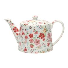 teapot / GreenGate Teekanne Sophia White  / nostalgie im kinderzimmer / €42.50