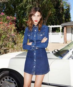This Is How You Steal Alexa Chung's Style #refinery29  http://www.refinery29.com/2015/01/80767/alexa-chung-clothing-line-launch