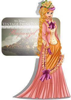 Vintage Princess -Rapunzel by selinmarsou on DeviantArt