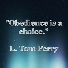 L. Tom Perry LDS general conference 2014