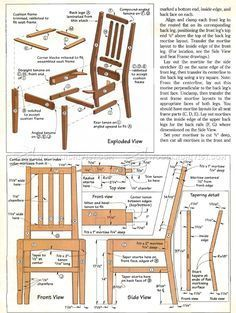 Build One Chair Or Several With The Daniela Dining Chair Plans I
