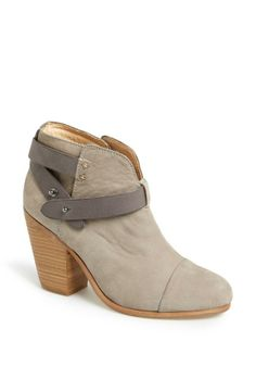 Cute grey booties to pair with a little summer dress | Rag & Bone
