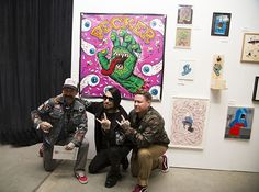 The traveling show is a momentous exhibition featuring contemporary visual artists, open skate, and special appearances.
