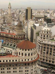 Cupula en edificio de Diagonal Norte y Florida.- Buenos Aires my favourit