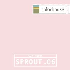 Colorhouse SPROUT .06: As sweet as strawberry ice cream and as soft as bunny ears.