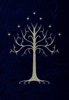"I was on Pinterest looking at lotr pins and there was this pin and mom said ""how about painting that in your bedroom?"" And i was like ""YESSS PLEASE!!!""  And i started fangirling so much. Im having the tree of Gondor painted in the wall beside my bed!!!"