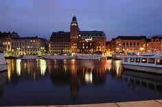 stockholm at night Stockholm, Sweden