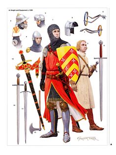 Dagorhir Discussion Forums -English knight kit mid-late 14th century