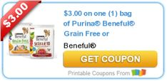 Tri Cities On A Dime: SAVE $3.00 ON PURINA BENEFUL GRAIN FREE OR Purina®...