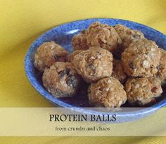 Protein Balls | Crumbs and Chaos