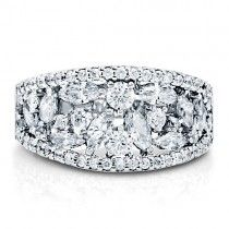 Sterling Silver Cubic Zirconia CZ Band Ring