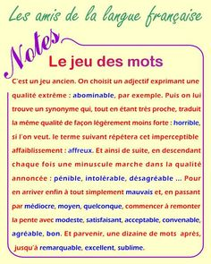 16 Meilleures Images Du Tableau Synonymes Synonymes Vocabulaire
