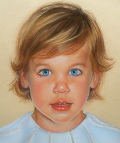 "Custom Portrait Painting Pastel Children Art 9x12"". $300.00, via Etsy."