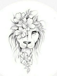 Leo Tattoos, Celtic Tattoos, Animal Tattoos, Cute Tattoos, Body Art Tattoos, Girl Tattoos, Tatoos, Elegant Tattoos, Unique Tattoos
