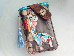 Check out our phone cases selection for the very best in unique or custom, handmade pieces from our shops. Handmade Products, Handmade Gifts, Mobile Phone Cases, Pouches, Giraffe, Charms, Lily, Samsung, Bags