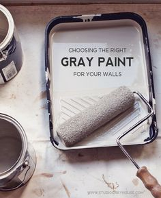 Choosing the right shade of gray to paint your walls can be a tricky task. How do you go about selecting the right gray color for your wall? Here is what we learned about choosing the right gray paint colors.